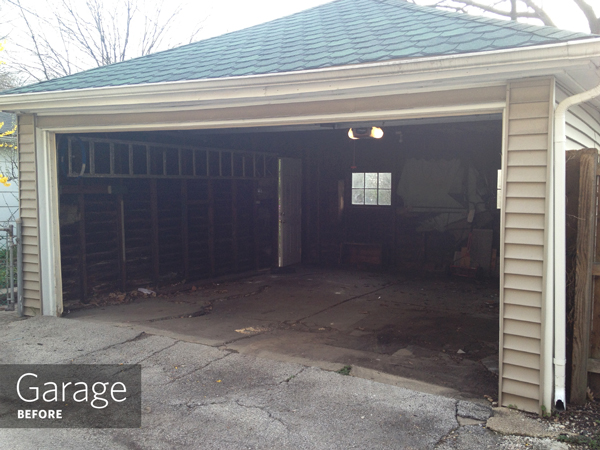 Garage, Before | Rather Square