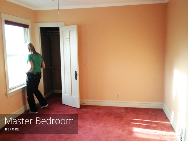 Master Bedroom Before | Rather Square