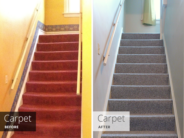 Replacing Carpet: Before And After | Rather Square