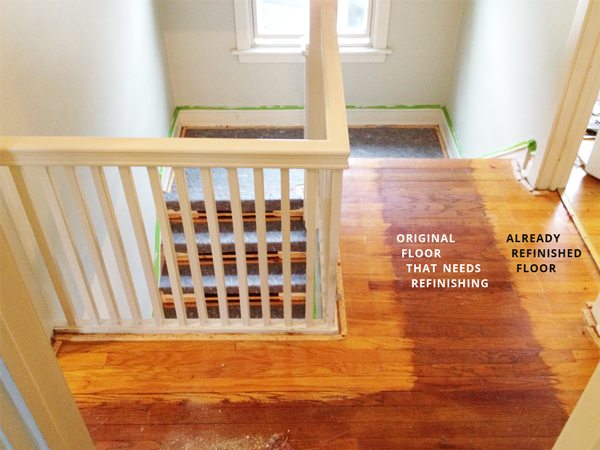 To Be Refinished Floors Under Old Carpet | Rather Square