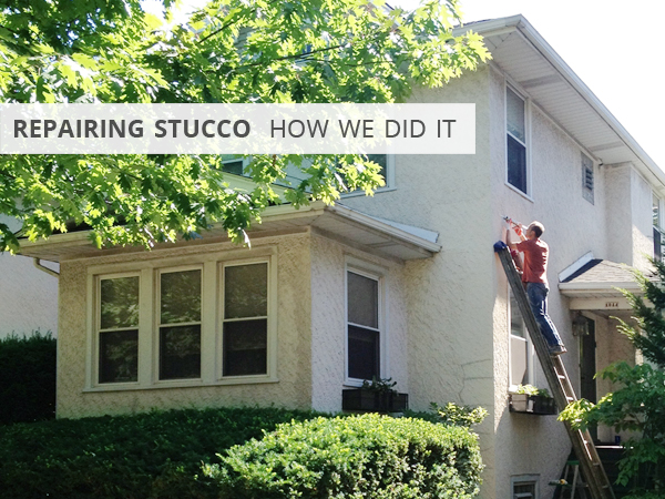Repairing stucco | Rather Square
