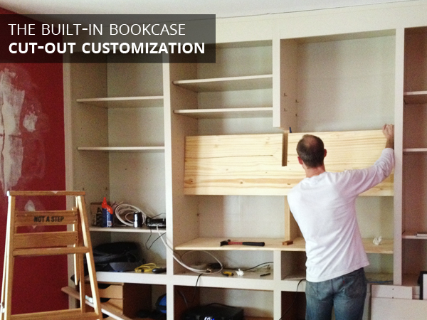 Built-in Bookcase | Rather Square