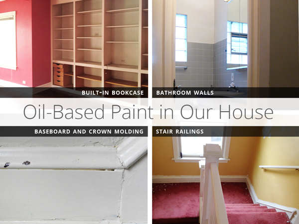 The Built In Bookcase: Painting Latex Over Oil Based Paint | Rather Square Part 93