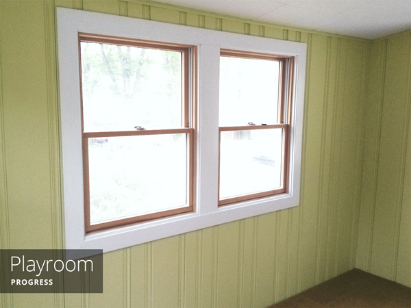 Painting Wood Paneling | Rather Square