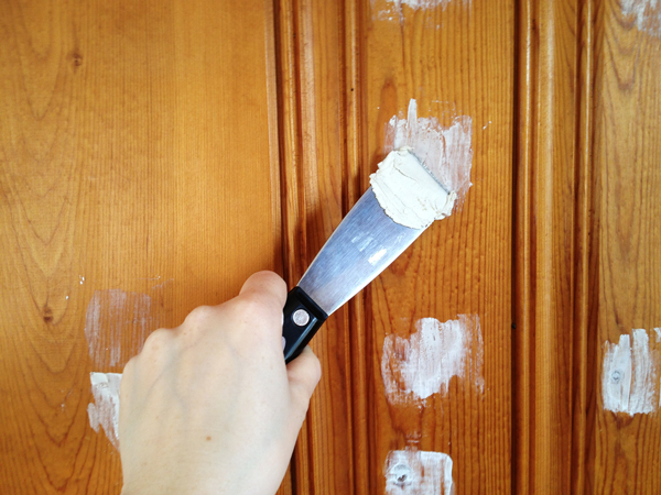 Painting Wood Paneling | Rather Square - Painting Wood Paneling: Knotty Or Nice? Rather Square