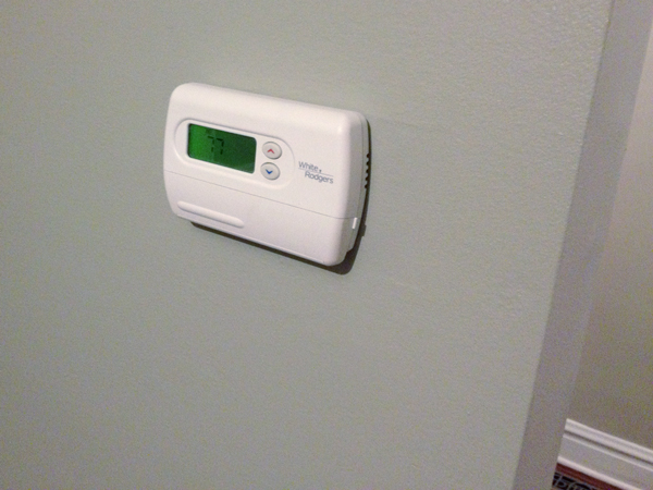 Updating a Thermostat   Rather Square