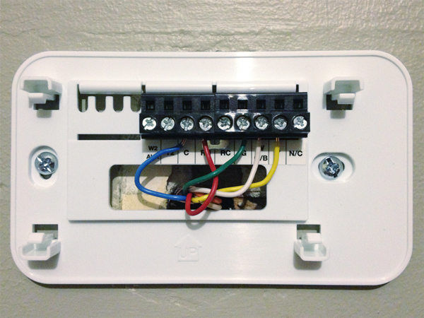 Installing a Thermostat | Rather Square