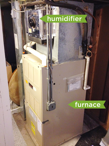 Replacing an Old Humidifier | Rather Square