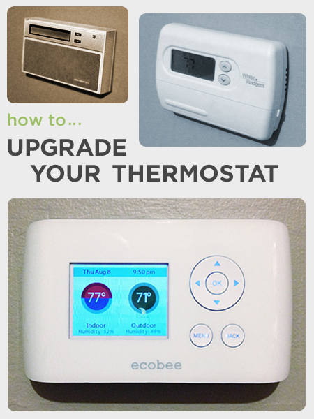 How to Upgrade Your Thermostat | Rather Square