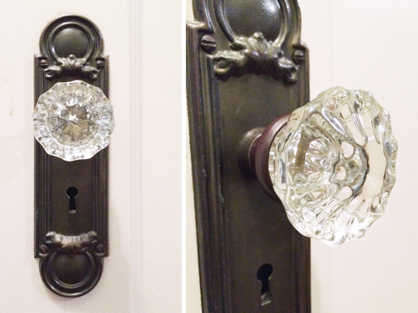 Incroyable Vintage Glass Doorknobs | Rather Square