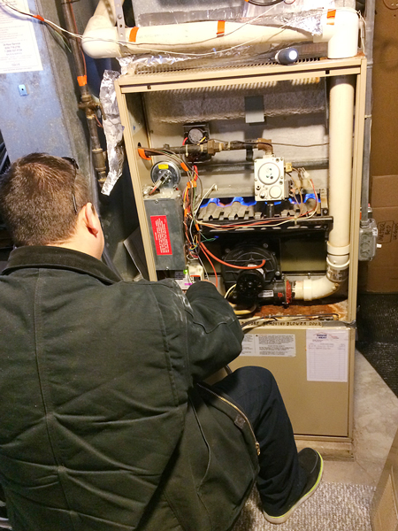 The Night our Furnace Died   Rather Square