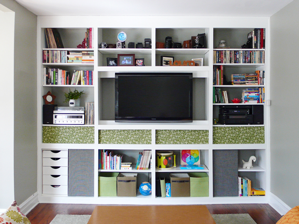 Built-In Bookcase: Intentional Style | Rather Square