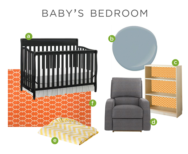 Moodboard for Baby's Bedroom | Rather Square