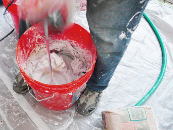 Mixing Fast-Setting Plaster to Repair Old Walls | Rather Square