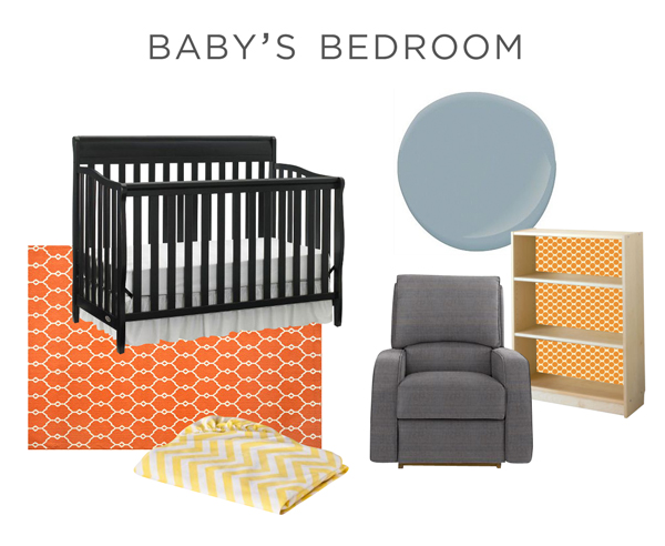 Moodboard for Nursery | Rather Square