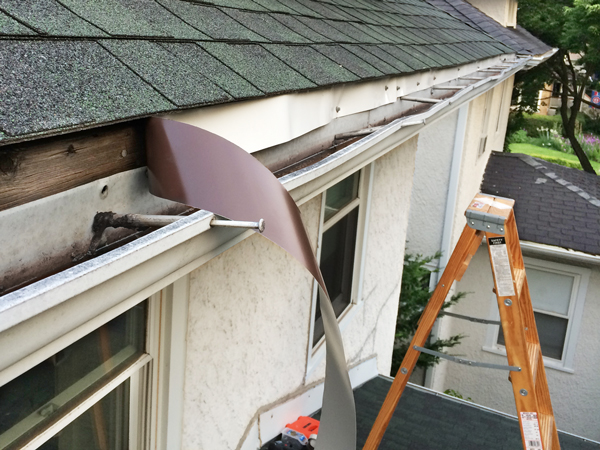 Installing Roof Flashing | Rather Square