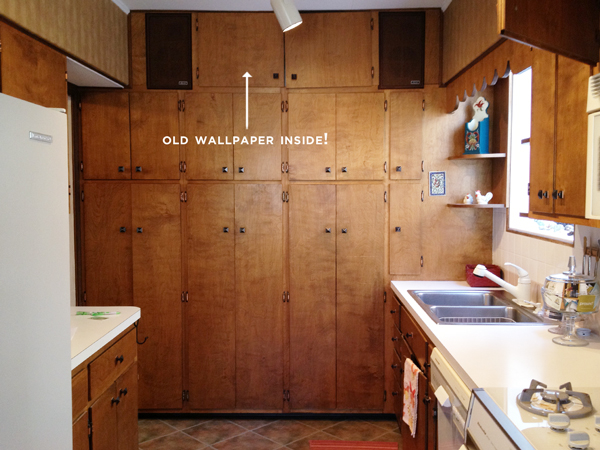 Old Kitchen Wallpaper | Rather Square
