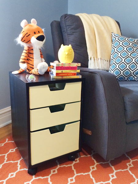 How to Paint Fabric Drawers   Rather Square
