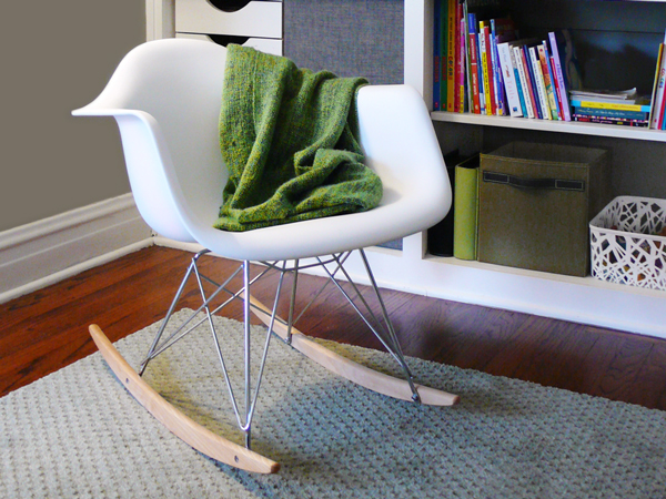 our knockoff eames rocker a review of the lexmod molded plastic armchair rocker rather