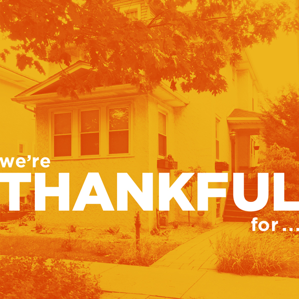 We're Thankful For | Rather Square