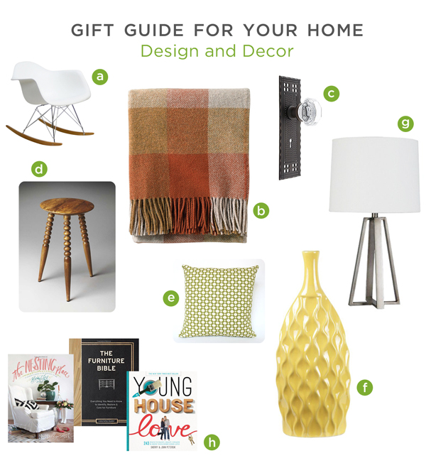 Gift Guide for Your Home: Design and Decor | Rather Square
