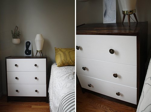 Ikea Dresser Hack from Apartment Therapy | RatherSquare.com