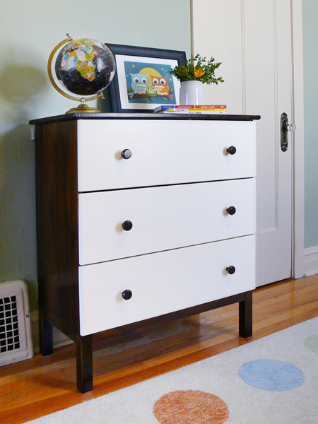 diy ikea tarva dresser. A DIY Ikea Tarva Dresser For Our Modern Kid | RatherSquare.com Diy C
