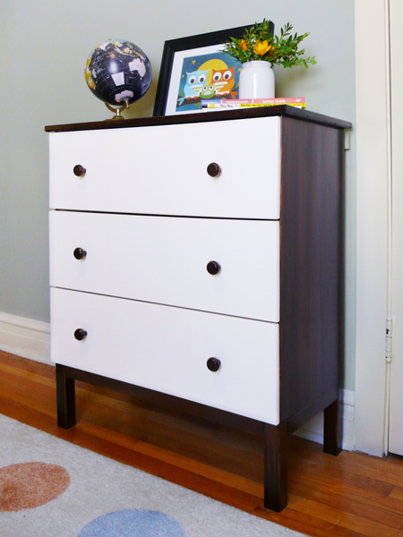 diy modern ikea tarva hack. A DIY Ikea Tarva Dresser For Our Modern Kid | RatherSquare.com Diy Modern Ikea Tarva Hack A