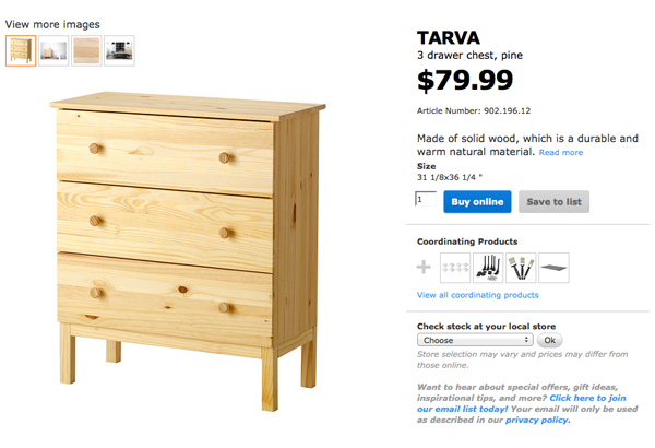 diy modern ikea tarva hack. Our Vintage Nursery Dresser And Modern DIY Inspiration | RatherSquare.com Diy Modern Ikea Tarva Hack