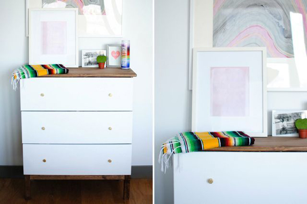 Ikea Tarva Dresser Hack from Homepolish | RatherSquare.com