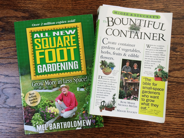 Square Foot Gardening and Bountiful Container