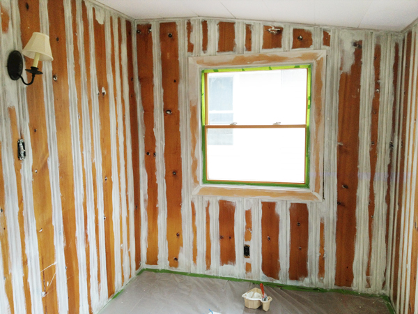 Priming Wood Paneling Rather Square