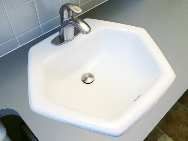 hexagon bathroom sink hexagon bathroom sinks bathroom design ideas 13110